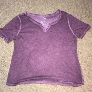 Purple Cut V tee BUNDLE TO SAVE